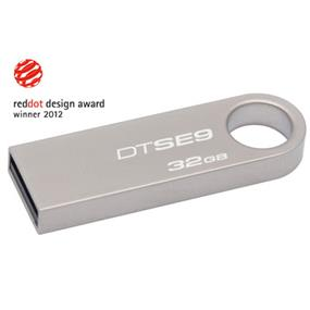 Kingston DataTraveler SE9 32GB Metal Casing USB Flash Drive (DTSE9H/32GBZCR)