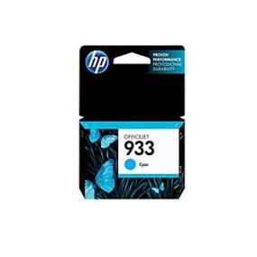 HP 933 Cyan Original Ink Cartridge (CN058AN)