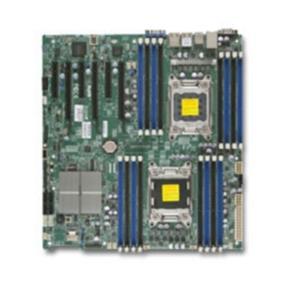 Supermicro Motherboard  Xeon LGA2011 C602 DDR3 SATA PCI Express EATX Retail (MBD-X9DRI-F-O)