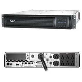APC SMART-UPS 2200VA RM LCD 120V NEMA 5-20P ONLINE 6X5-15R 2X5-20R (SMT2200RM2U)