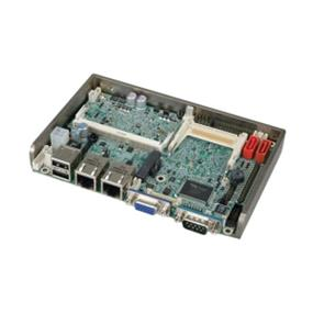 "IEI 3.5"" Embedded Motherboard with Onboard Dual-core Intel Atom D525 1.8GHz CPU, DDR3, VGA/LVDS, Dual GbE, COM, SATA II, USB, HD Audio (WAFER-PV-D5252-R10)"