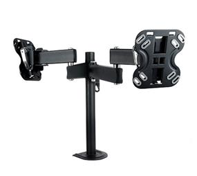 "Ross Double Monitor Dual Arm Desk Mount 13""-23""''"
