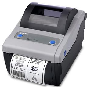 SATO CG408DT Direct Thermal Printer, 203 dpi, 4.1 Inch, Parrallel IEEE1284 and USB Interfaces (WWCG08061)