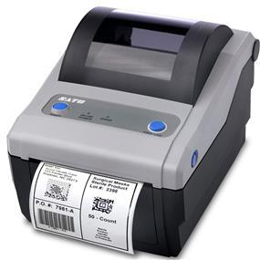 SATO CG408DT Direct Thermal Printer, 203 dpi, 4.1 Inch, USB & Ethernet Interface (WWCG08041)