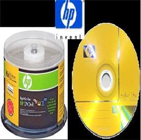 HP DVD+R4.7GB Full Logo (Branded) Surface 16X 50 pack