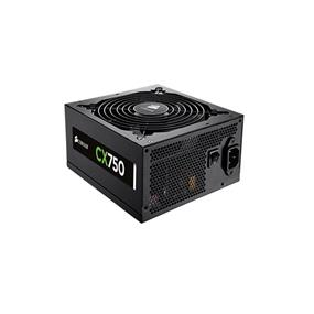 Corsair CX Series CX750 750 Watt 80 PLUS Bronze Certified Power Supply (CP-9020015-NA)