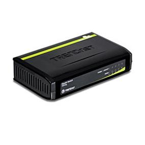 TRENDnet TEG-S5G 5-Port Gigabit GREENnet Switch - 5 x 10/100/1000Base-T LAN