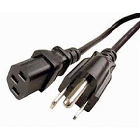 Power Cable 18AMG - 6 ft. (Black) (MSCP6CSA/MSCP6CSA1)