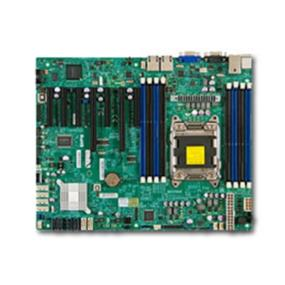 Supermicro Motherboard  (MBD-X9SRL-F-O) Intel C602 Chipset - Socket R LGA-2011 - Retail Pack - ATX - 1 x Processor Support - 256 GB DDR3 SDRAM Maximum RAM - Serial ATA/300, Serial ATA/600 RAID Supported Controller - On-board Video Chipset - 2 x PCIe x16 Slot (MBD-X9SRL-F-O)