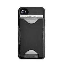 Case-Mate POP ID case for iPhone SE/5 - Black/Black