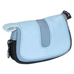 Crumpler Hoojah Pouch Large - for Compact Digital Camera with Spare Card and Battery (Pale Blue with Light Blue Accent)