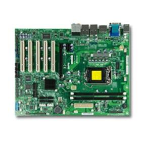 Supermicro MBD-C7H61 -O Motherboard - LGA1155 - Intel 2nd and 3rd Gen Core i7/i5/i3, Pentium, Celeron processors supported - Intel H61 Express chipset - Up to 16GB 1600MHz non-ECC DDR3 UDIMMs on 2 DIMM slots - 1 (x16) PCI-E 3.0, 1 (x1) PCI-E 2.0, and 5 32-bit PCI slots - Intel 82579V and 82574L Dual GbE LAN ports