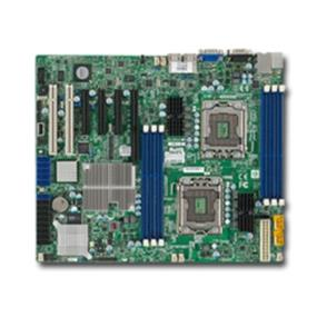Supermicro Motherboard MBD-X8DTL-6F-O - LGA1366 - Intel Xeon processor 5600/5500 series, with QPI up to 6.4 GT/s - Intel 5500 (Tylersburg) Chipset - Up to 96GB** DDR3 1333/ 1066/ 800MHz ECC Registered DIMM / 24GB Unbuffered DIMM - Dual Intel 82574L Gigabit Ethernet Controller - 6x SATA2 (3 Gbps) Ports via ICH10R Controller - 1 (x8) PCI-E 2.0 (1 in x16 slot), 2 (x4) PCI-E 2.0 (in x8 slot), 1 (x4) PCI-E (in x8 slot), 2x PCI 33MHz slots - Integrated Matrox G200eW Graphics - LSI 2008 8-Port 6Gbps SAS Controller; RAID 0, 1, 10; RAID 5 optional