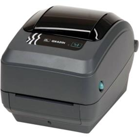 Zebra GK420t Direct Thermal-Thermal Transfer Printer (203 dpi, EPL2, ZPL II, Serial and USB Interfaces, CP Enhanced)
