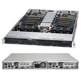 Supermicro System 1U Xeon E5-2600 LGA2011 DDR3 PCI Express 1280W Retail (SYS-6017TR-TF)