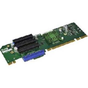 Supermicro Accessory (RSC-R2UU-UA3E8) 2U 1 UIO 3 PCI-E x8 Left Slot Riser Card For Chassis SC825U