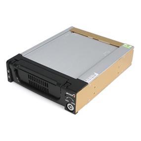 StarTech Black Aluminum 5.25in Rugged SATA Hard Drive Mobile Rack Drawer (DRW150SATBK)