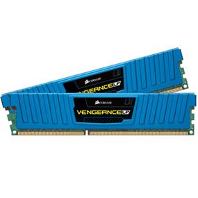 Corsair Vengeance Low Profile Blue 8GB (2x4GB) DDR3 2133MHz CL11 DIMMs (CML8GX3M2A2133C11B)