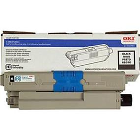 Okidata 44469801 Toner Cartridge - Black - LED - 3500 Page