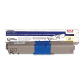 Okidata 44469701 Toner Cartridge - Yellow - LED - 3000 Page