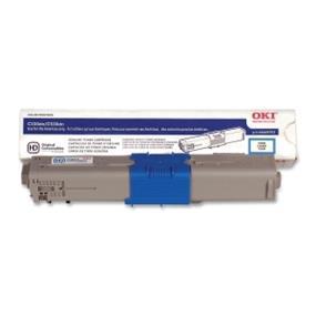 Okidata 44469703 Toner Cartridge - Cyan - LED - 3000 Page
