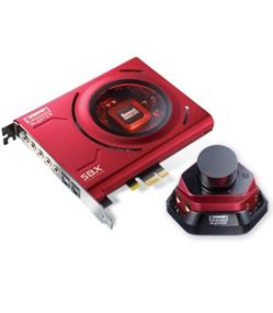 Creative Sound Blaster ZX - PCI-E Gaming & Entertainment Sound Card (Retail) (70SB150600000)