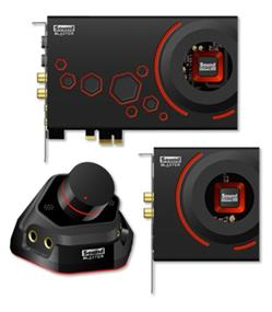 Creative Sound Blaster ZXR - PCI-E Ultimate Audio Playback and Creation Solution(Retail) (70SB151000000)