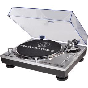 Audio-Technica AT-LP120USB - Direct Drive Professional DJ Turntable with USB Output