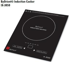 Tiger ByOrient IX-3050 Modern Electric Portable Induction Cooking Surface Cookware - Black (IX-3050)