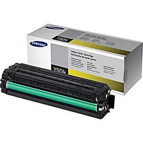 Samsung CLT-Y504S/XAA Yellow Toner Cartridge