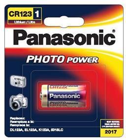 Panasonic CR123APA1B 3V Lithium Battery