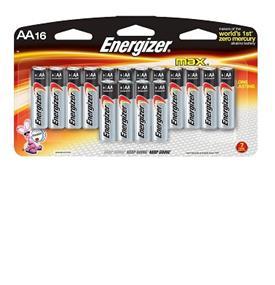 Energizer Max 16xAA Alkaline Battery (E91BP16)