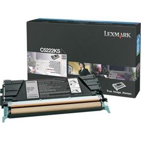 Lexmark C5222KS Black Toner Cartridge - Black - Laser - 4000 Page