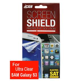 iCAN Ultra Clear Screen Protector for Samsung Galaxy S3 (Front)