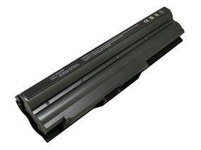 iCAN Compatible Sony Vaio Series Laptop Battery 6-Cell Li-ion(Samsung Cell) 4400mAh-Metallic Grey