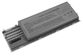 iCAN Compatible Dell Latitude Series Laptop Battery 4-Cell Li-ion(Samsung Cell) 2200mAh-Black