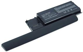iCAN Compatible Dell Latitude Series Laptop Battery 8-Cell Li-ion(Samsung Cell) 4400mAh-Black