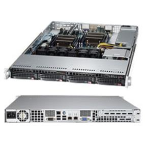 "Supermicro SuperServer 6017R-TDAF - Xeon E5-2600 family - 4x3.5"" Hot swap SATA - 600W"