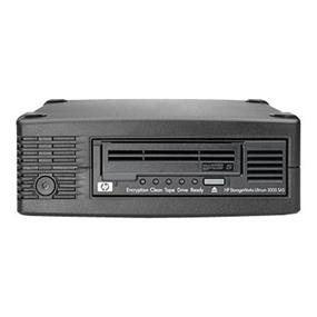 HP StorageWorks LTO-5 Ultrium 3000 SAS External Tape Drive - Tape drive - LTO Ultrium ( 1.5 TB / 3 TB ) - Ultrium 5 - SAS-2 - external - encryption - Smart Buy (EH958SB)