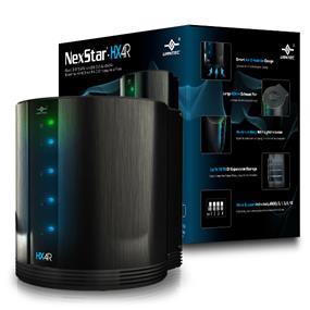 """Vantec NexStar HX4R Vantec (NST-640S3R-BK) Quad 3.5"""" SATA to USB 3.0 & eSATA External Hard Drive RAID Enclosure w/ Fan"""