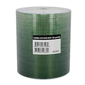 Ridata CD-R 52X NOB Shiny Top NSR Shrink Wrap 100Packs(R80JS52-NOB100N)