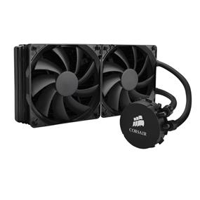 Corsair Hydro Series H110 280mm High Performance Liquid CPU Cooler -- for Intel LGA 1150, 1155, 1156, 1366, and 2011 &  AMD FM1, FM2, AM2, and AM3 (CW-9060014-WW)
