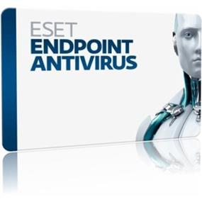 ESET Endpoint Antivirus, 1 License, 1 Year Standard, Includes ESET Remote Administrator, Download Version, Tier C (25 - 49 Users)