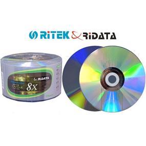 Ridata DVD-R 8X Logo Platinum Silver 50Packs(DRD-478-RDP50W)