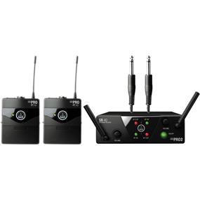 AKG WMS 40 Mini2 - Dual Wireless Instrumental System