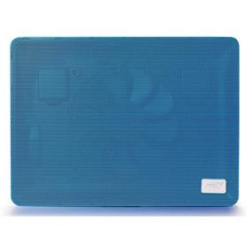 "Deepcool N1 Notebook Cooler (Blue)- Up to 15.6"", Portable, Metal mesh panel, Big 180mm Fan, Both Height adjustable, Fan Speed Adjustable"