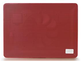 "Deepcool N1 Notebook Cooler (Red)- Up to 15.6"", Portable, Metal mesh panel, Big 180mm Fan, Both Height adjustable, Fan Speed Adjustable"