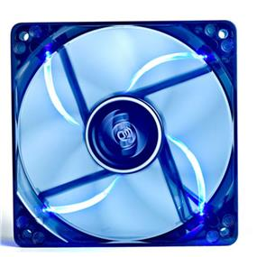 Deepcool DC Fan WIND BLADE 120 Blue LED semitransparent fan frame 120mm 1300±10%RPM