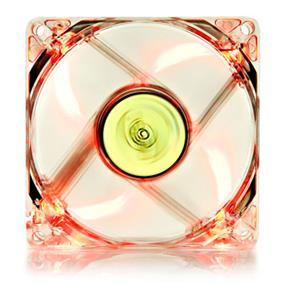 Deepcool DC Fan Xfan 80L/R UV Red LED Transparent fan frame 80mm 1800±10%RPM