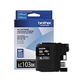 Brother LC-103 XL Black Ink Cartridge (LC103BK)